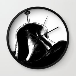 asc 485 - La fleur tranchée (As sharp as a razor) Wall Clock