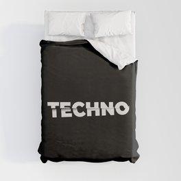 Techno sliced Duvet Cover