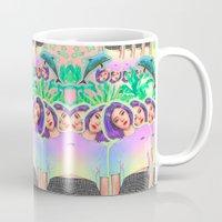 aloha Mugs featuring Aloha by Sara Eshak