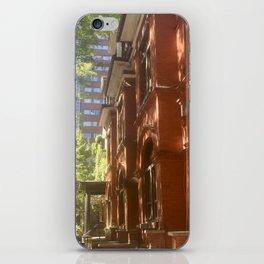 Shadows On Brownstone iPhone Skin