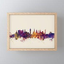 Glasgow Scotland Skyline Framed Mini Art Print