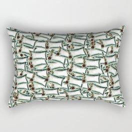 Bag on Rectangular Pillow