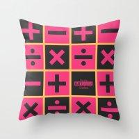 jojo Throw Pillows featuring JoJo Vento Aureo Trish Una by El Cadejos