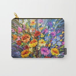 Bouquet of flowers for happiness Carry-All Pouch