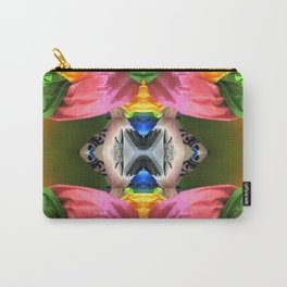 Pink Pods Carry-All Pouch