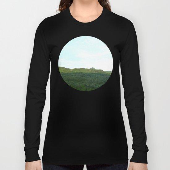 road way, scotland Long Sleeve T-shirt