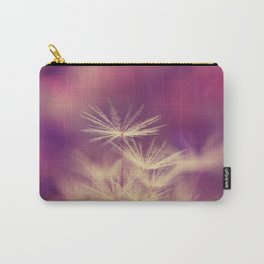 dandelion pink yellow Carry-All Pouch
