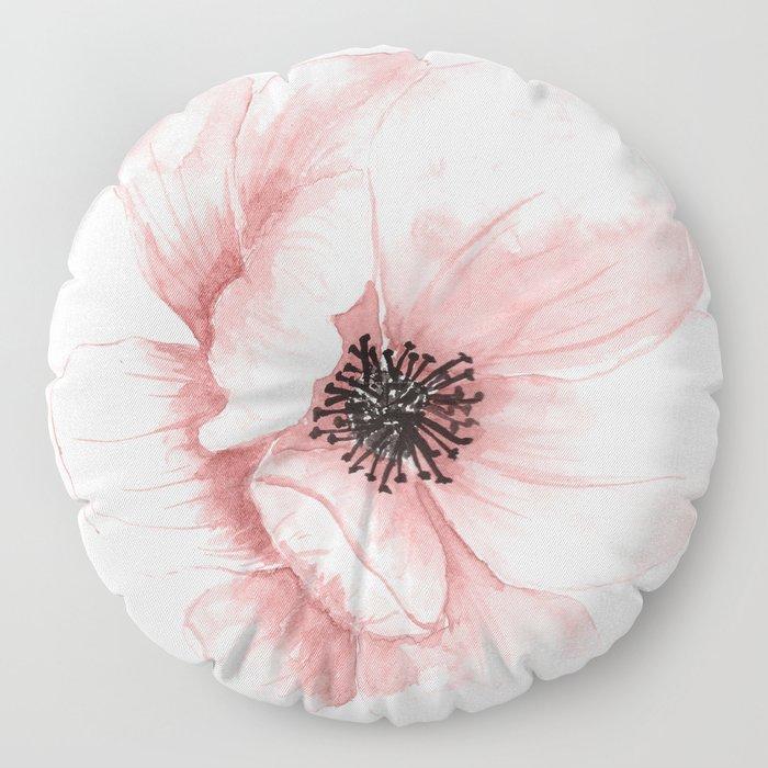 Flower 21 Art Floor Pillow