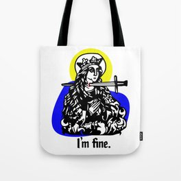 Martyrface Tote Bag