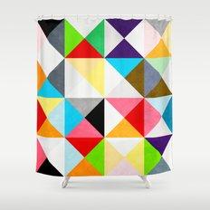 Geometric Morning Shower Curtain