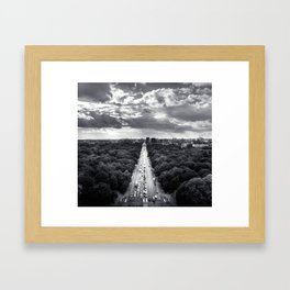 From Siegessaule Framed Art Print