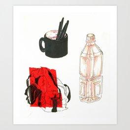 objects Art Print