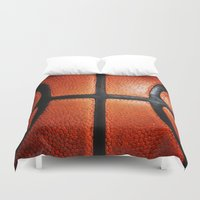 basketball Duvet Covers featuring Basketball by alifart