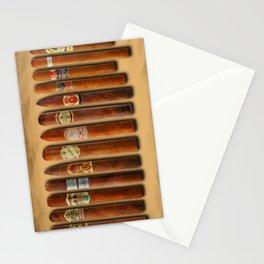 Cigar Sampler Painting Cigars Stationery Cards