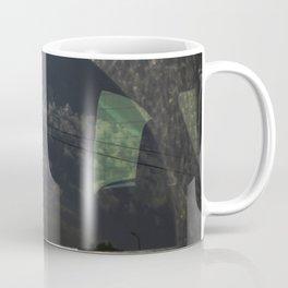 City Reflection on Glass Coffee Mug