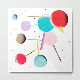 Lollypop Lolli Pop Kinder Metal Print