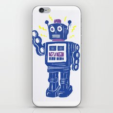 Toy Robot Parade iPhone & iPod Skin