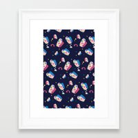 matisse Framed Art Prints featuring MATISSE DREAMS by Wishbox Creative