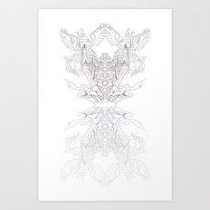 Phoenix Chakra Art Print
