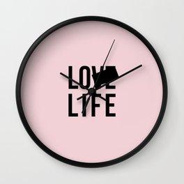 Lo Life Wall Clock
