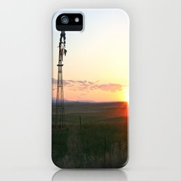 Montana Sunset iPhone Case