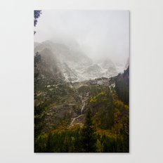 A Valley in the Tetons Canvas Print