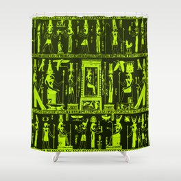 Egyptian serigraphy Shower Curtain