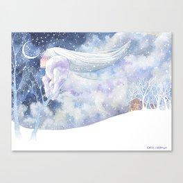 Winter Spirit Canvas Print
