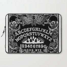 Ouija Board Black Laptop Sleeve