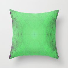 Alien Energy Throw Pillow