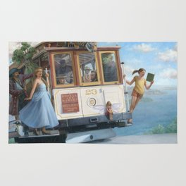 The Trolley Ride Rug