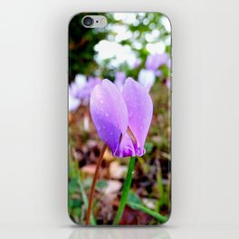Automn's flower iPhone Skin