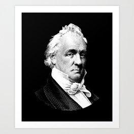 President James Buchanan Graphic Art Print