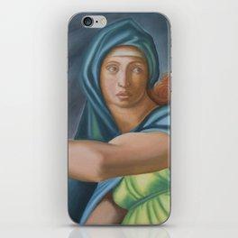 Sibila Delphica. Sistine Chapel. Michael Angelo. iPhone Skin