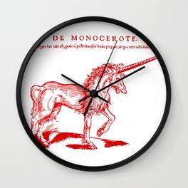 Monocerus Wall Clock
