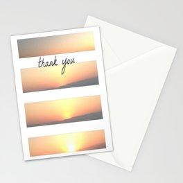 Masada Sunrise Thank-You Note Stationery Cards