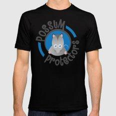 Possum Protectors MEDIUM Black Mens Fitted Tee