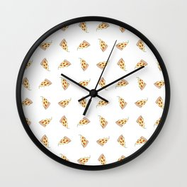 In Pizza We Trust Wall Clock