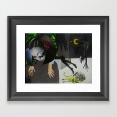 amoi Framed Art Print