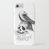 sons of anarchy iPhone & iPod Cases featuring Sons of Anarchy  by Christiano Mere