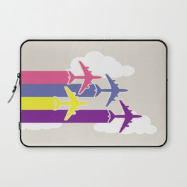 Colorful airplanes Laptop Sleeve