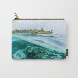 ocean, underwater world, water, island, sky Carry-All Pouch