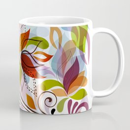Abstract Floral 17 Coffee Mug