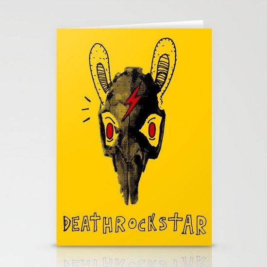 Rabitt Skull Stationery Cards