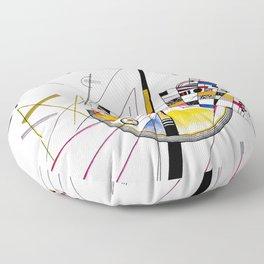 Kandinsky - Delicate Tension Floor Pillow