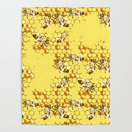 Honey Hive Poster