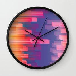 Dichroic Sample 273 Wall Clock