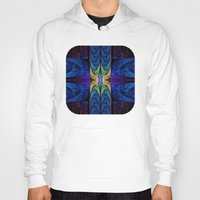 spiritual Hoodies featuring Spiritual One by Lyle Hatch