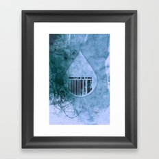 Water, Property of the People 1 Framed Art Print