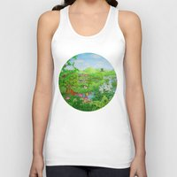 spring Tank Tops featuring Spring by Amy Fan